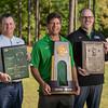 University of West Florida coaches Steve Fell (Golf), Derrick Racine (Tennis), and Pete Shinnick (Football).