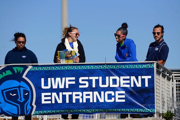 UWF Football vs Shorter