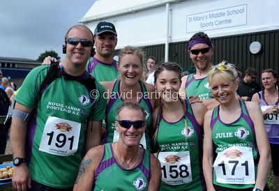 The Puddletown Plod Half Marathon Road Race, Puddletown, Dorset, ENGLAND