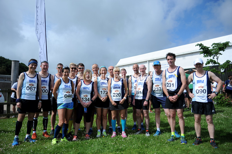 The Puddletown Plod Half Marathon Road Race, Puddletown, Dorset, ENGLAND