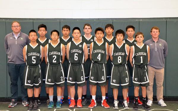 JV Basketball 2016