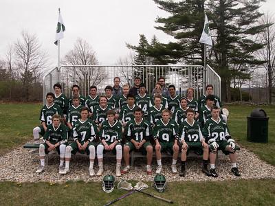 JV Lacrosse Team 2016