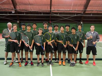 JV Tennis Team 2016