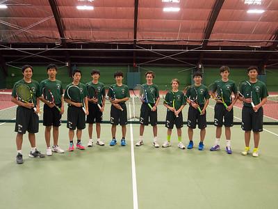 Varsity Tennis Team 2016