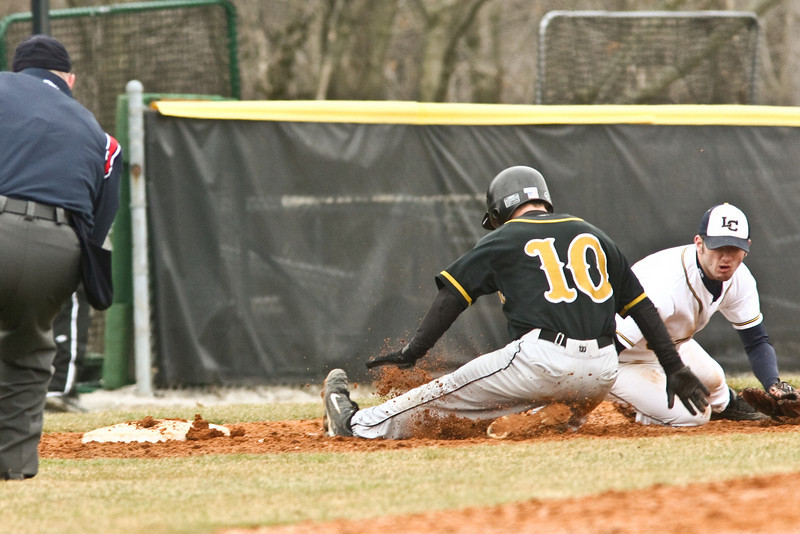 DePauw plays Lakeland College March 16, 2008 at Walker Field.  The Tigers won 8-4, improving to 10-3.    PHOTO BY ALEX TURCO