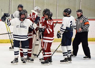 (02/25/17 Groton, MA) St Mark's vs Groton School Day. Varsity Girls and Boys Basketball and Hockey. February 25, 2017 Photo by Faith Ninivaggi.