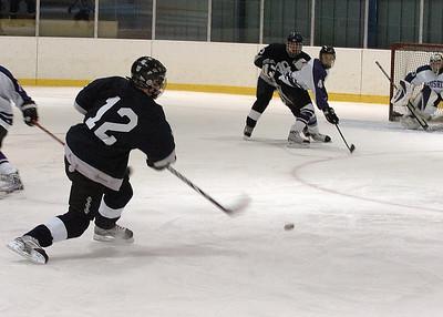 2013 JV boys hockey vs. Cushing