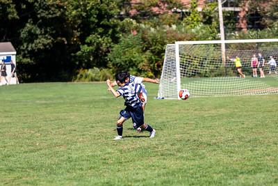 JV Boys' Soccer 10.2019