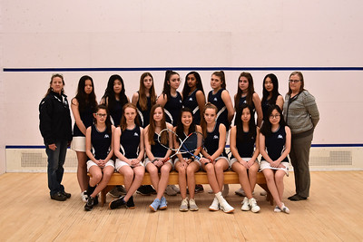 Thirds Girls Squash