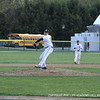 Daniel Dymecki '12 throws a fastball by his opponent.