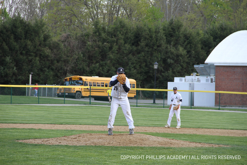 Dymecki '12 sets up at the mound and intimidates his opponent at the plate!