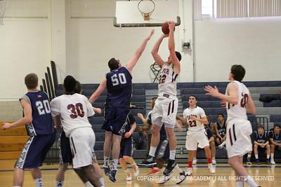 BV Basketball vs Tabor