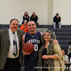 Co-captain Palleschi '12 and his parents after scoring his 1000 points.