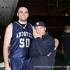 Co-captain Thomas Palleschi '12 and Baseball head coach Kevin Graber pose for the camera!