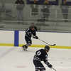 Lata '14 passes the puck to Kemp '13.