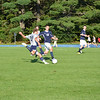 Jonathan Westling '12 jolts the ball past SJP.