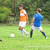 PA boys soccer candidates show off their quick feet on the field.