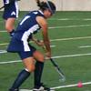 PA FH controls the ball.
