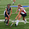 EvageliaToffoloni pushes the ball past Lawrence Academy.