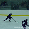 Evagelia Toffoloni '15 makes her way down the ice.