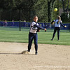 Co-captain Maloney '13 fires one across the diamond.