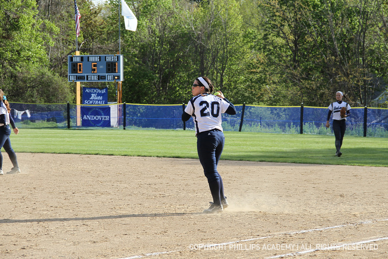 Clancy '13 looks back a runner at third.