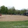 View of the girls on Isham Field.