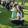 """Hartung '14 talks """"strategy"""" with the kids."""