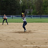 Co-captain Maloney '13 shows her power at the mound.