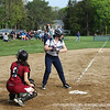 Sydney Adams '14 at the plate attempts to move the runners around the bases!