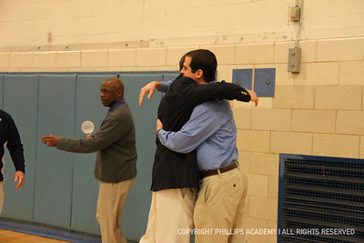 Honors for Coach Mo and Joey Lokitis '06