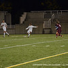 Nick DiStefano '14 passes the ball across the field.