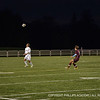 Andover gains control of the ball.