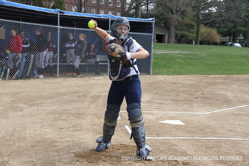 Nikki Pelletier '13 plays catch.