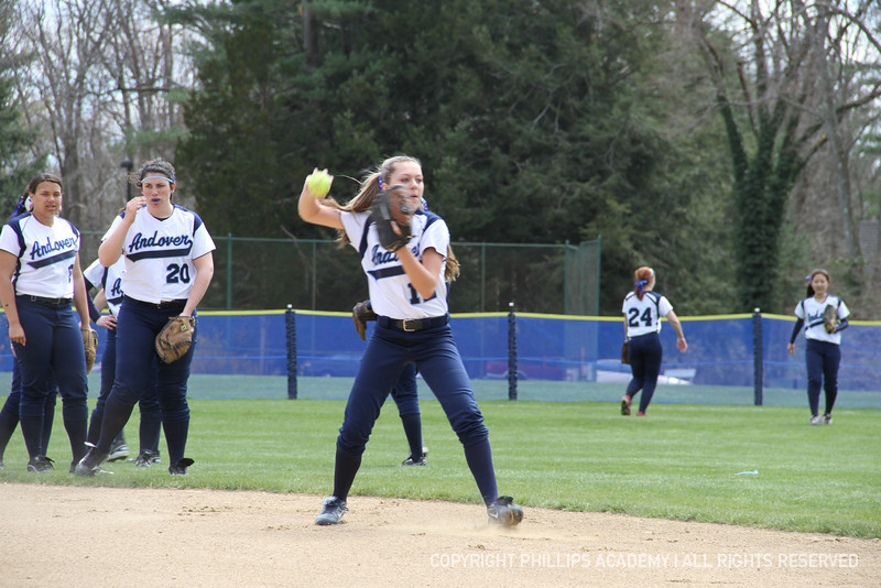 Hartung '14 fires to first.