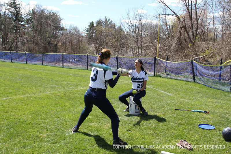 Bradford '15 shows some great promise with her hitting ability.
