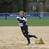 Co-captain Maloney '12 pushes off the mound.