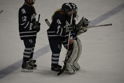 Girls Hockey vs Exeter