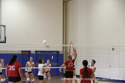 GJV Volleyball vs. St. Paul's