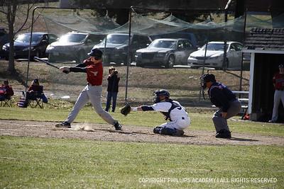 V Baseball vs. Thayer