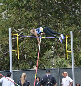 No idea who she is but she cleared the bar!