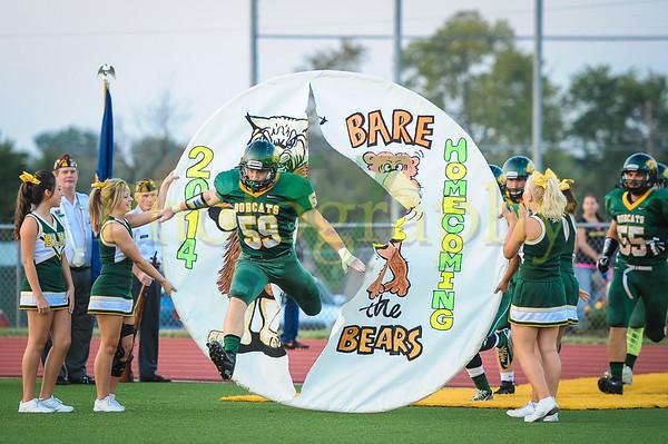 BLHS vs Turner 2014 Plus Homecoming