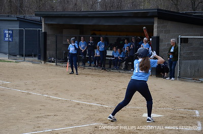 GV Softball vs. Exeter