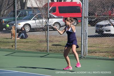 GV Tennis vs. St. Paul's