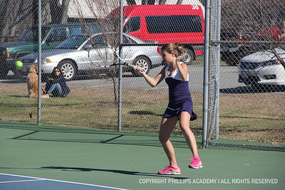 GV Tennis vs. St. Paul's