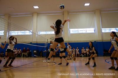 GJV Volleyball vs. Exeter