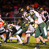 Basehor-Linwood vs Tonganoxie in football at Tonganoxie High School. THS defeats BLHS 10-3. THS wins the final Kaw Valley League football championship.