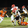 Bonner Springs HS vs Lansing HS in Football on October 20th 2017. BSHS defeats LHS 34-21.
