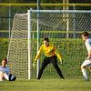 Basehor-Linwood vs Maranatha Christian Academy soccer. BLHS defeated Maranatha 2-1.