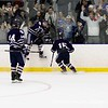 Powers '19 acknowledges the fans after OT winner.